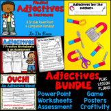 Adjectives: A Bundle of Activities