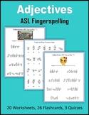 Adjectives (ASL Fingerspelling)