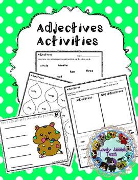 Adjectives Activities