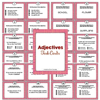 Adjectives Activities {Fun Common Core Language Practice}