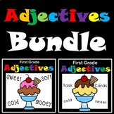 Adjectives Activities and Task Cards Bundled!