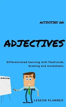 Adjectives Activities for Grade 1