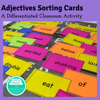 Adjectives Activity: Sorting Cards