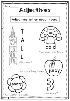 Adjectives Activity Workbook