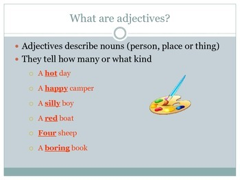 Adjectives & Adverb Presentation