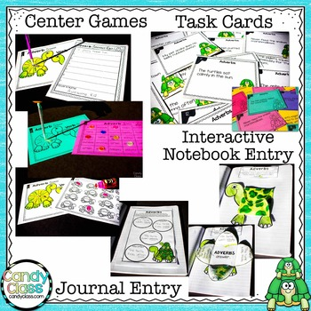 Adjectives & Adverbs Activities & Lesson Plans: A Mega 2nd Grade Grammar Bundle