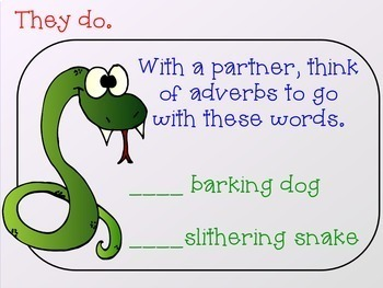 Parts of Speech : Adjectives and Adverbs (The Zoo Edition) Power Point
