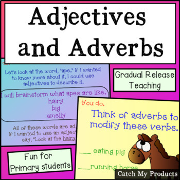 Parts of Speech : Adjectives and Adverbs (The Zoo Edition)
