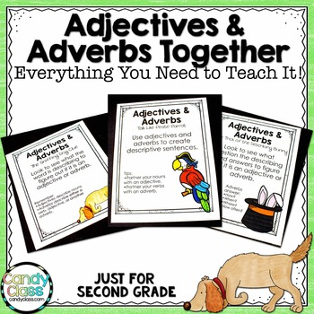 Adjectives & Adverbs Together - Everything You Need to Teach It