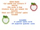 Adjectives Apples- Question Game