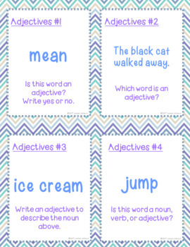 Adjectives Practice