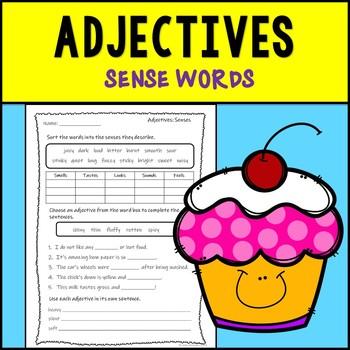 Adjectives Assessment--Sense Words