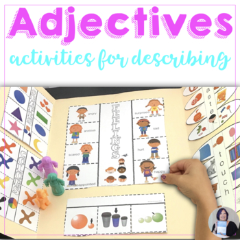 Adjectives Activity Books