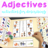 Adjectives Activity Books Speech and Language Therapy