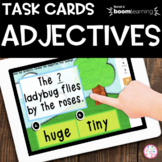 Adjectives Boom Cards™ | Distance Learning