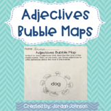 Adjectives Bubble Maps