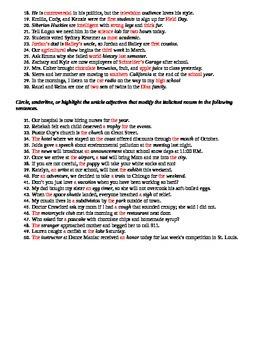 Adjectives: Building Skills