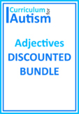 Adjectives Bundle Autism Reading Literacy ESL Speech