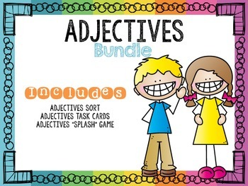 Adjectives Bundle First Grade