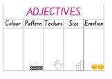 Adjectives Chart