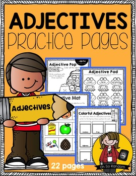 Adjectives {Click File, Print}