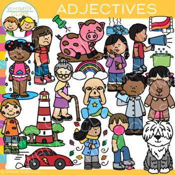 Adjectives Clip Art