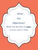 Adjectives Cloze Reading