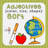 Adjectives: Color, Size, Shape