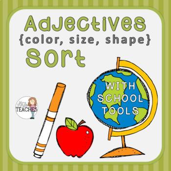 Adjectives: Color, Size, Shape