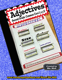 Adjectives Common Core Second Grade L.2.1.E Interactive Notebook