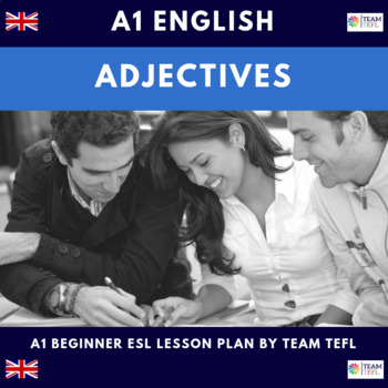 Adjectives - Common and Demonstrative A1 Beginner Lesson Plan For ESL