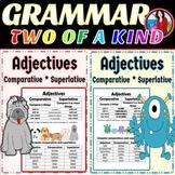 Adjectives Comparative Superlative Bundle 2 Activities