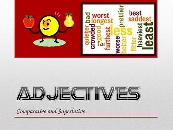 Adjectives Comparative Superlative Powerpoint