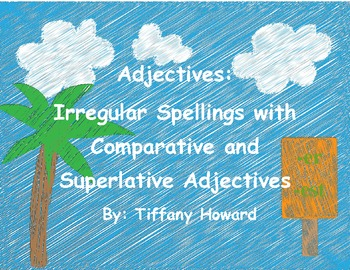 Adjectives - Comparative and Superlative Instructional Activities Package