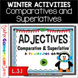 Adjectives - Comparatives and Superlatives Powerpoint Game