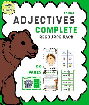 Adjectives - Complete Bundle