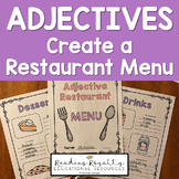 Adjectives: Create a Descriptive Restaurant Menu