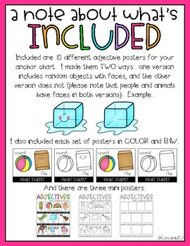 Adjectives DIY Anchor Chart Kit