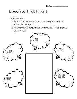 Adjectives - Describe that Noun!