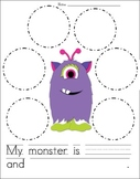 Adjectives - Describe the Monster