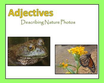 Adjectives:  Describing Nature Photos