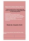Adjectives (Describing words)
