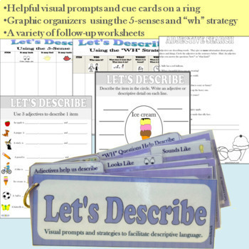 Let's Describe: Adjectives, Attributes, and Sentence Expansion