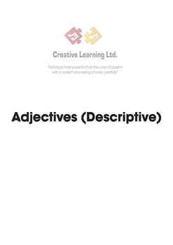Adjectives (Descriptive)