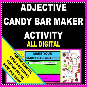 Adjectives/ Descriptive Words Activity for Google Classroom