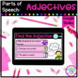 Adjectives Digital Activities for Google Slides Distance Learning