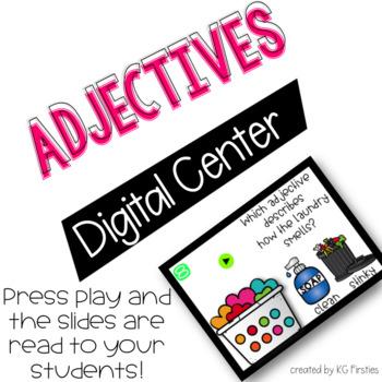 Adjectives Digital Listening Center