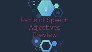Adjectives Interactive Digital Notebook
