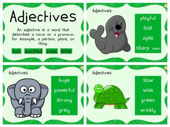 Adjectives Display