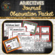 Adjectives Formal Observation Packet